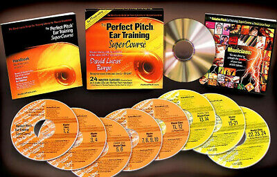 The Perfect Pitch Ear Training SuperCourse By David Lucas Burge (Brand New) $100