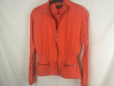 Pure Amici Zip Front Actice Wear Jacket Size XS