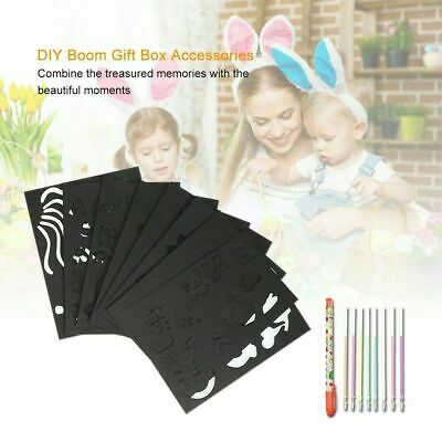 DIY Handmade Surprise Explosion Gift Box with Accessories Kit Memory Photo Album