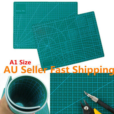A1 Thick 5-Ply Self-Healing Craft Cutting Mat 2 Side Print Scrapbooking Quilting