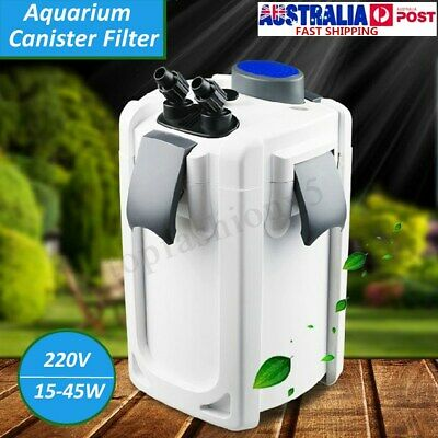 9W UV Sterilizer Aquarium Fish tank External Canister Filter