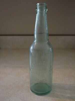Hack & Simon Eagle Brewery Bottle from Vincennes, Indiana