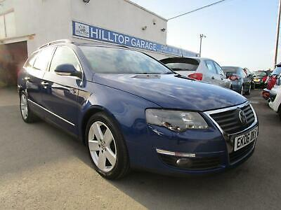 VOLKSWAGEN PASSAT 2.0 TDI SPORT 170 BHP ESTATE CAR Blue Manual Diesel, 2006