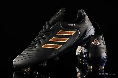 on sale 4b36f 87390  220 Adidas Copa 17.1 FG Soccer Cleats Boots K-Leather Sz 9 Black-Copper