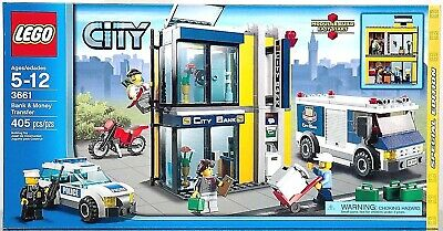 Lego City Bank Money Transfer 3661 Special Edition Set Mintsealed