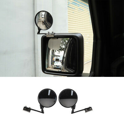 Fits Jeep Wrangler Blind Spot Mirror for JL 2018 2019 Side Rear View Mirror 2pcs