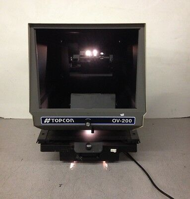 Topcon Ophthalmic Viewer OV-200 Chart Projector Missing Screen