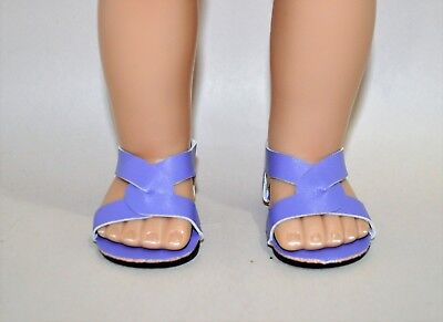 Our Generation American Girl Doll 18 Dolls Clothes Shoes Mauve Slip on Sandals