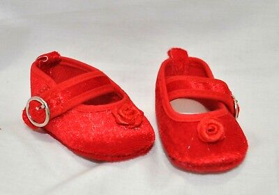 Our Generation American Girl Dolls 18 Inch Doll Clothes Red Velvet Shoes