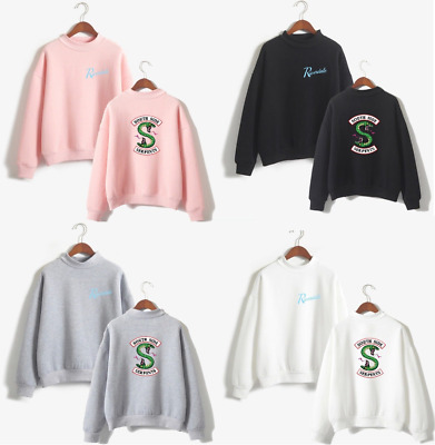 Southside Serpents Riverdale Pullover Felpa Pullover a maniche lunghe Costume IT