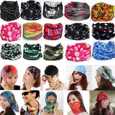 New Face Mask Cycling Snood Bandana Multi Scarf Head Cover Headwear Neck Warmer