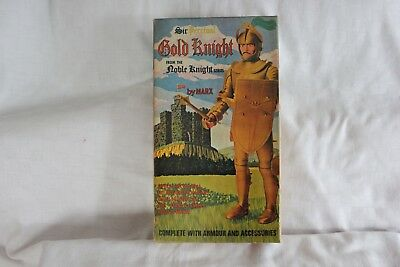 Swansea Marx Toys Sir Percival Gold Knight Some on Sprue Johnny West Cowboy