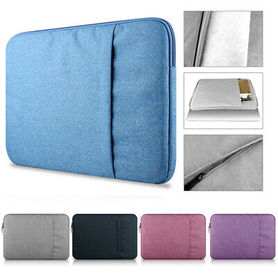 """Laptop Bag Sleeve Case Notebook Pouch Cover For MacBook Lenovo HP Dell 11-15.6"""""""