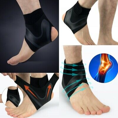 Foot  Sprains Injury Pain Wrap Sports Sleeve Protector Guard Ankle Support Brace