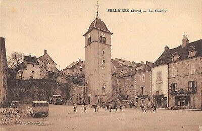 Cpa 39 Sellieres Le Clocher