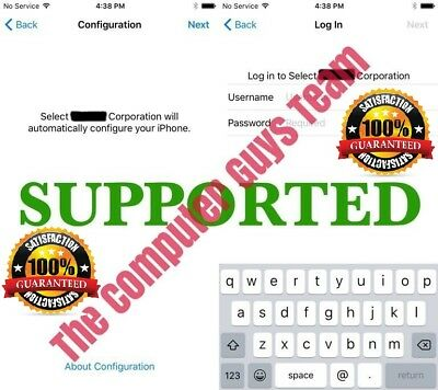 APPLE MDM BYPASS IPHONE/IPAD/IPOD 100% - iOS 12.3.1, XR, XS, XS MAX Supported