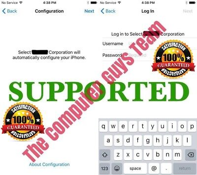 APPLE MDM BYPASS IPHONE/IPAD/IPOD 100%-iOS 13.3.1, iPhone 11 Supported