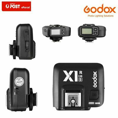 AU Godox X1R-S TTL 2.4G Wireless Flash Trigger Receiver HSS 1/8000s F Sony DSLR