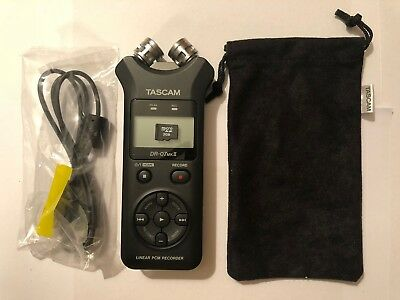 Tascam DR-07 DR 07 MKII 2 Portable Field Handheld Digital Recorder 2GB SD, USB