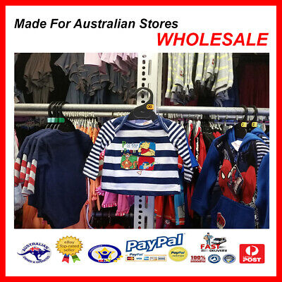 AUS WHOLESALE BABY KIDS CLOTHING Pooh Bear & Tigger Top  MYER STOCK *From $4*