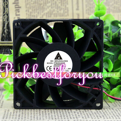 Delta FFB0924SHE fan 24V 0.60A 90*90*38mm 2pin #M57B QL