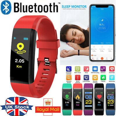 Fitness Smart Watch Activity Tracker Adult Kids Fitbit Android iOS Heart Rate #