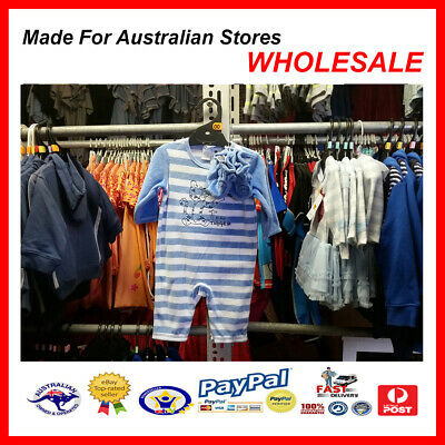 AUS WHOLESALE BABY KIDS CLOTHING Tigger Romper Coverall MYER STOCK *From $6*