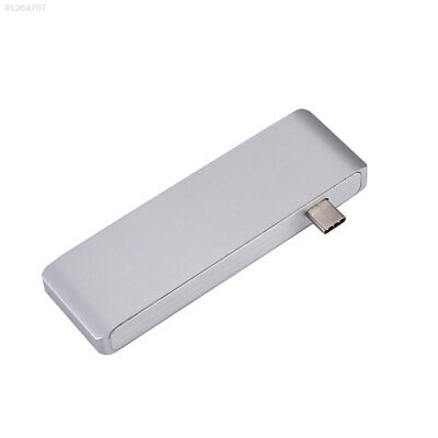 038F For MacBook Pro 5In1 Adapter With USB3.0 Card Reader Siliver Interface TF