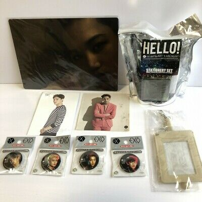 EXO Sticker + Badge + Postcard Other Goods set Free Shipping