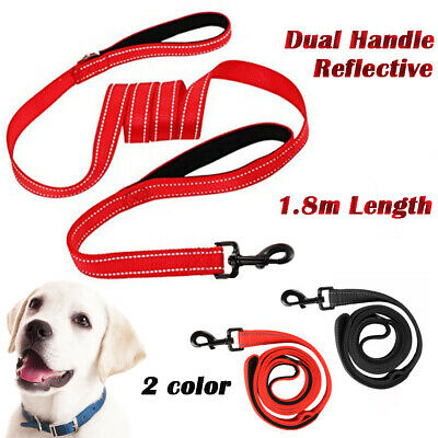 180cm Strong Nylon Pet Lead Rope Heavy Duty Dog Leash with Double Padded Handle