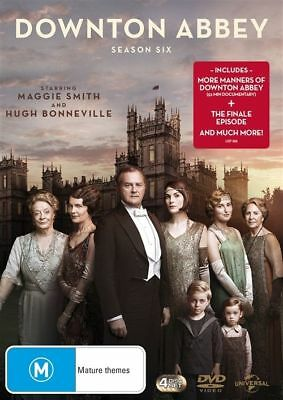 Downton Abbey : Season 6 (DVD, 4-Disc Set) NEW
