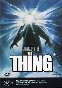 The Thing – Dvd- Region: 2+4- New And Sealed-Free Post Within Australia