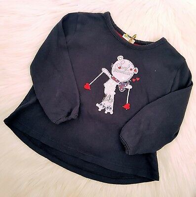 BENETTON BABY - Size 9-12m (0) long sleeved top