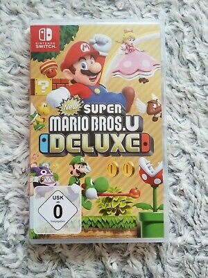 New Super Mario Bros. U Deluxe Nintendo Switch Spiel