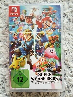 Nintendo SWITCH Spiel Super Smash Bros. Ultimate wie neu