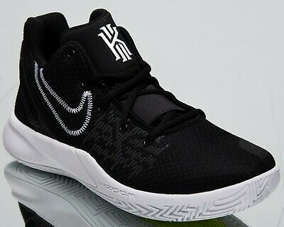 newest 8c664 7bcbd Nike Kyrie Flytrap II New Men s Basketball Shoes Black White Low Top  AO4436-001