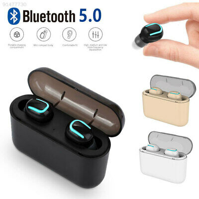 Bluetooth v5.0 Earbuds True Wireless Headphones Invisible TWS Headset Earphone