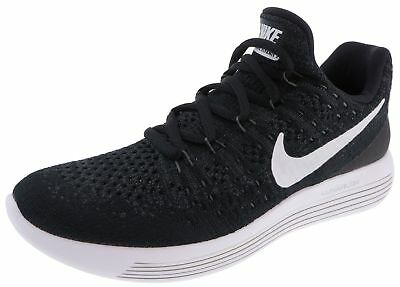 new product 867bb bcc45 Nike Running LunarEpic Low Flyknit 2 GS Black White Anthracite