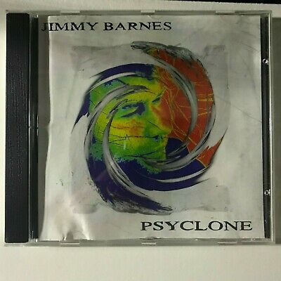 Jimmy Barnes - Psyclone (DISC VERY VERY GOOD) CD Album Music