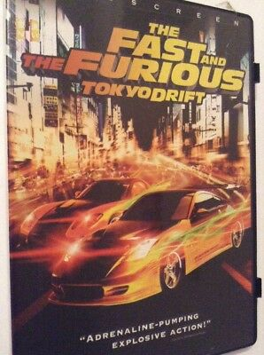 The Fast And The Furious - Tokyo Drift (DVD, 2006) Region 1, Priority Post