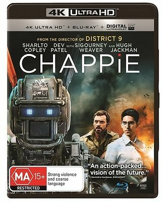 Chappie 4K Ultra HD : NEW UHD Blu-Ray