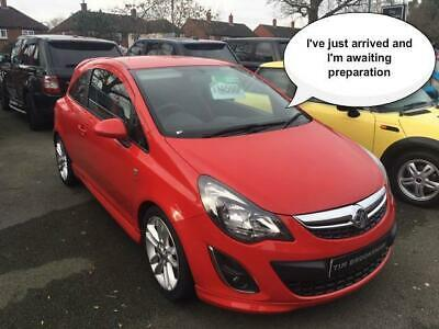 Vauxhall Corsa SRI 1.4 Alloys, Air Conditioning, Electric Windows, Aux Input