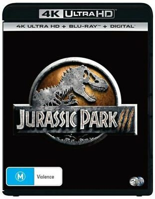 Jurassic Park III 4K Ultra HD : NEW UHD Blu-Ray