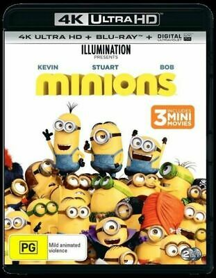 Minions 4K Ultra HD : NEW UHD Blu-Ray