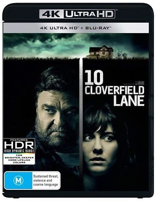 10 Cloverfield Lane 4K Ultra HD : NEW UHD Blu-Ray