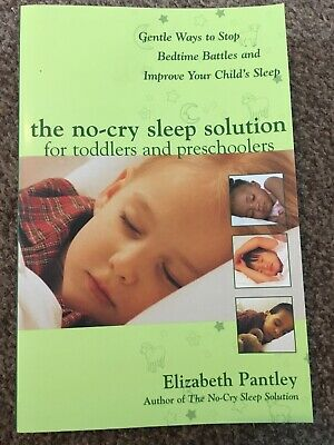 The No-Cry Sleep Solution Book - Elizabeth Pantley - Used - Very Good Condition