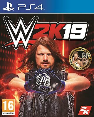 2K WWE 2K19, PS4 videogioco Basic PlayStation 4 ITA WWE 2K19, PS4