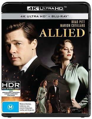 Allied 4K Ultra HD : NEW UHD Blu-Ray