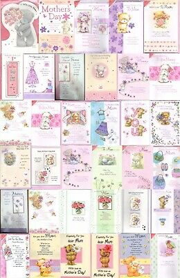 Happy Mother's Day Mothering Sunday Cards New with Envelopes | Mum Mummy
