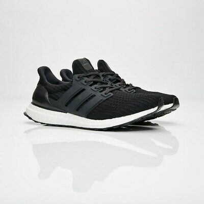 012d6fa6237ae1 adidas Ultra Boost 4.0 Core Black BB6166 Men Sizes NEW 100% Authentic